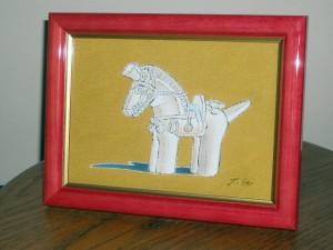 埴輪 馬 Lサイズ¥15,000