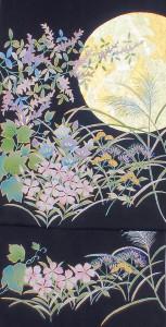 月に秋草図名古屋 ¥300,000