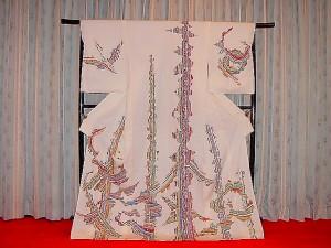 古代夕幻 訪問着(仮絵羽)¥1,500,000