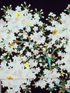 桜図名古屋帯 ¥250,000