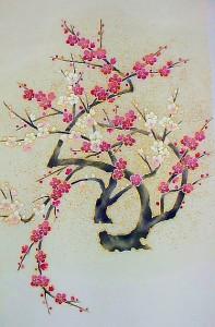 紅白梅紋様名古屋 ¥250,000